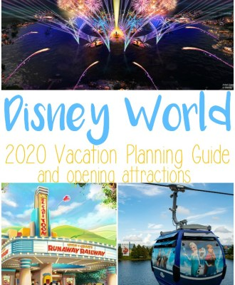Disney World 2020 Vacation Planning Guide and Opening Attractions