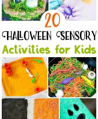 Halloween Sensory Activities for Kids