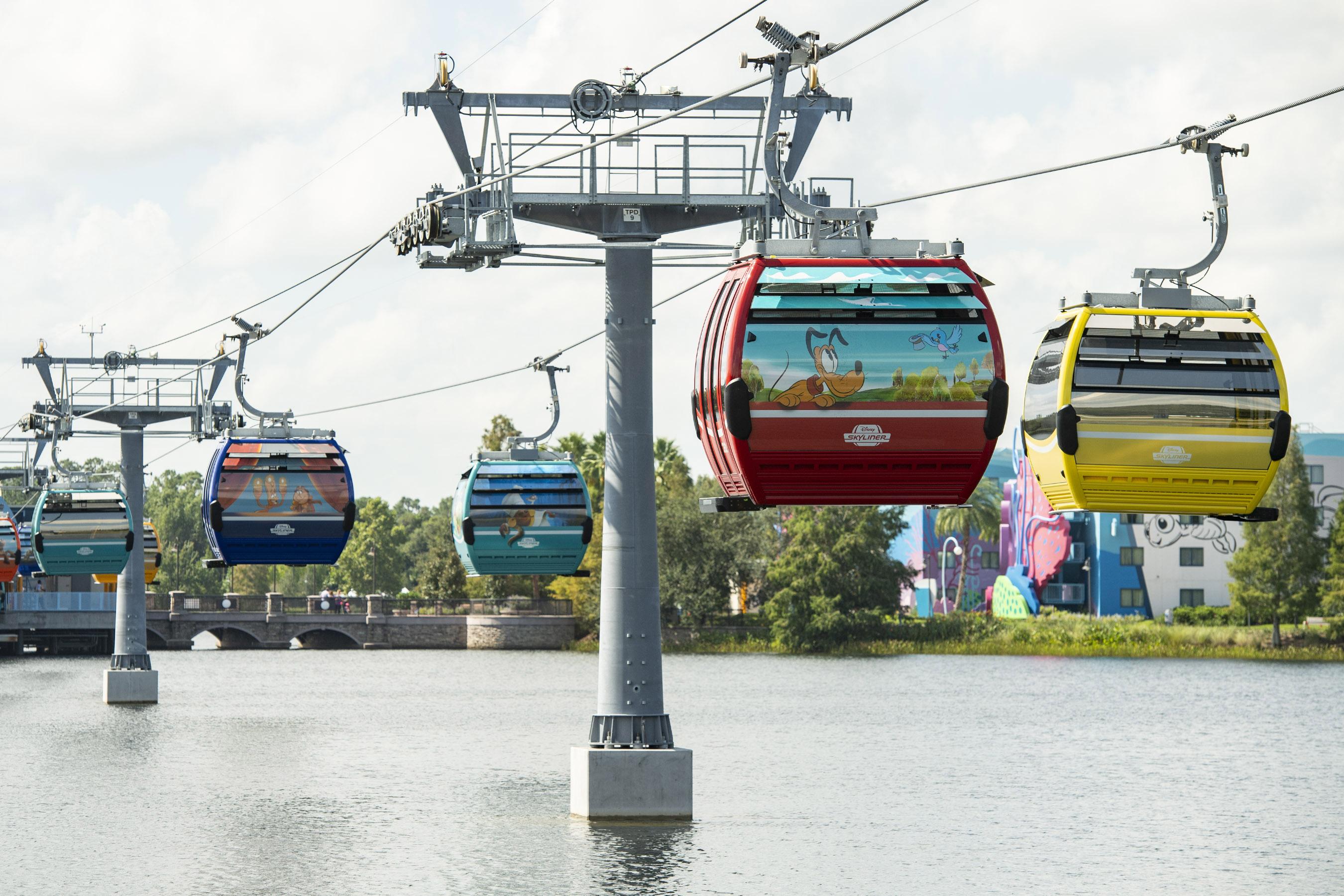 Disney Skyliner Transportation