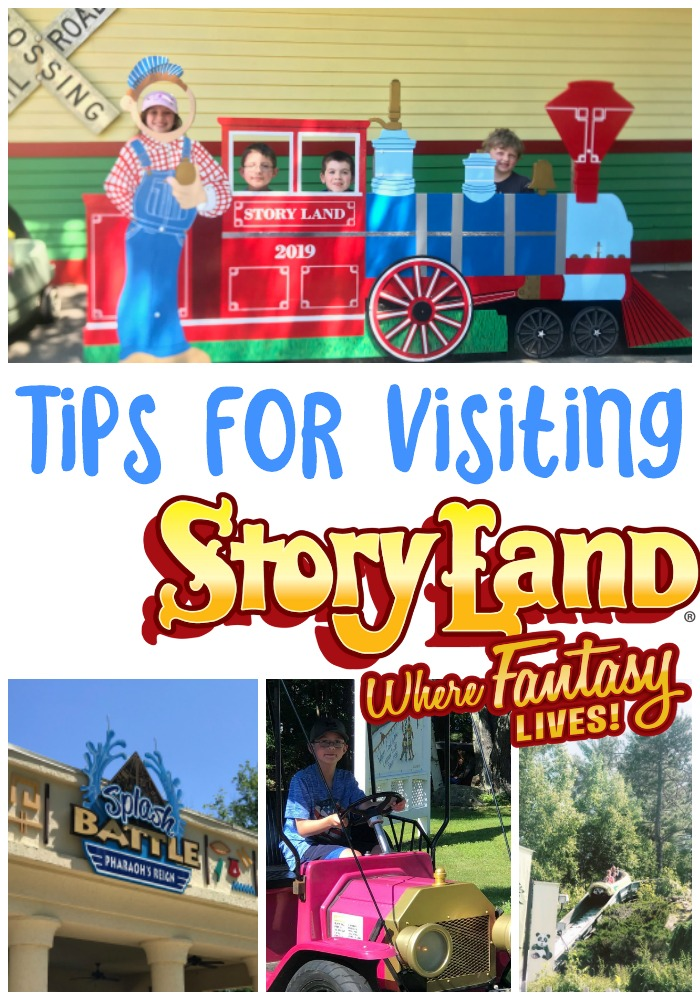 tips for visiting Story Land, Story Land New Hampshire, Best amusement park for kids, attractions in White Mountains, family friendly attractions in new hampshire