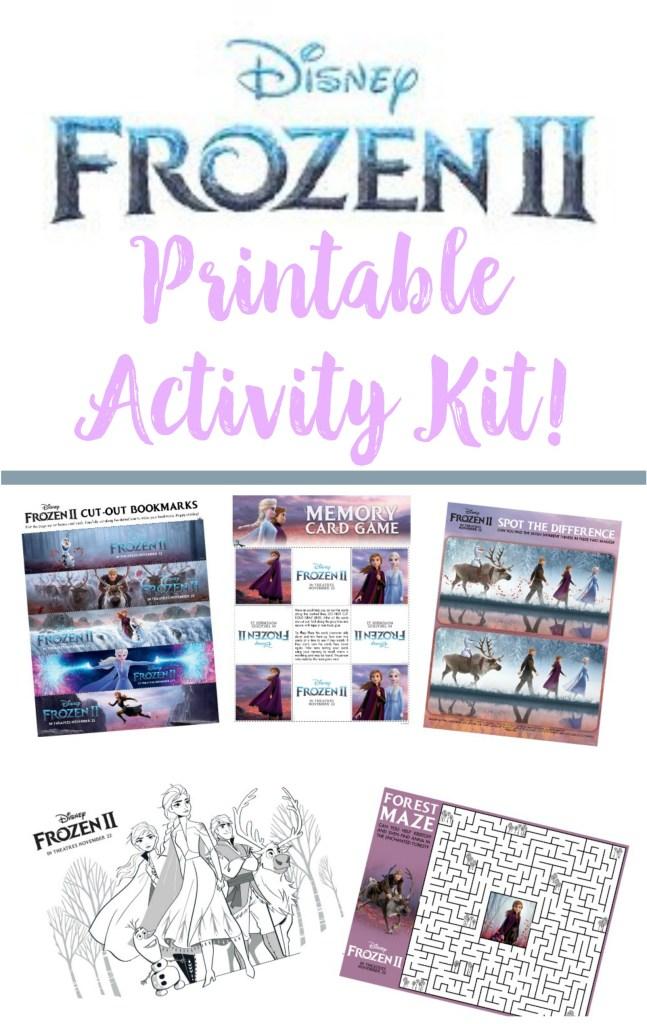 Frozen 2 Printable Activity Kit, #Frozen2