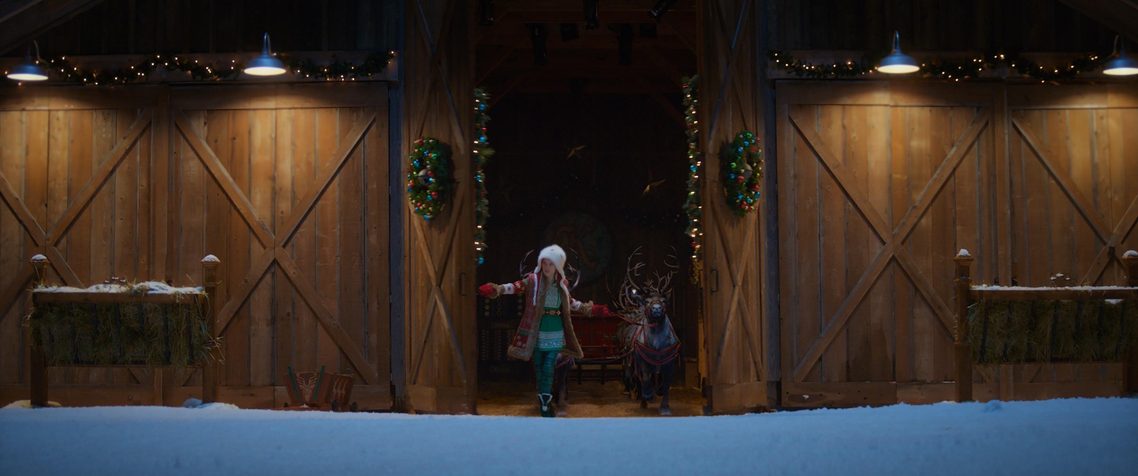 Noelle and Reindeer