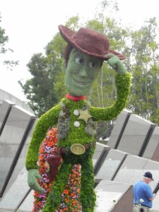 Wordless Wednesday-Epcot Flower & Garden Festival 2011