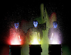 Blue Man Group Rocks the House