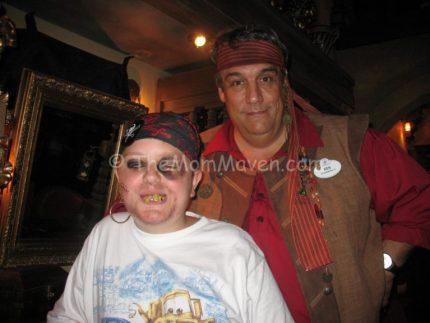 Jordan and his pirate master