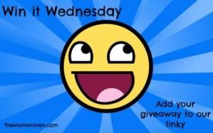 Win It Wednesday 1-8-14 Giveaway Linky