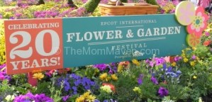 Mouse House Memories- the 20th Annual Epcot Flower and Garden Festival