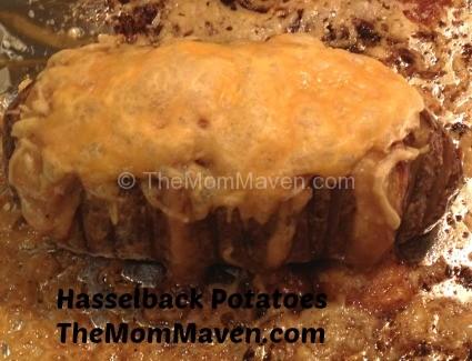Easy recipes: Hasselback Potatoes TheMomMaven.com