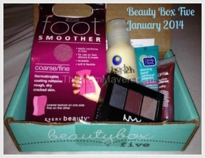Review-Beauty Box Five