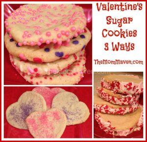 Easy recipes-Valentines Sugar Cookies