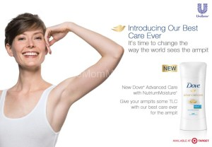 Join Dove® Deodorant & Change the Way the World Sees the Armpit
