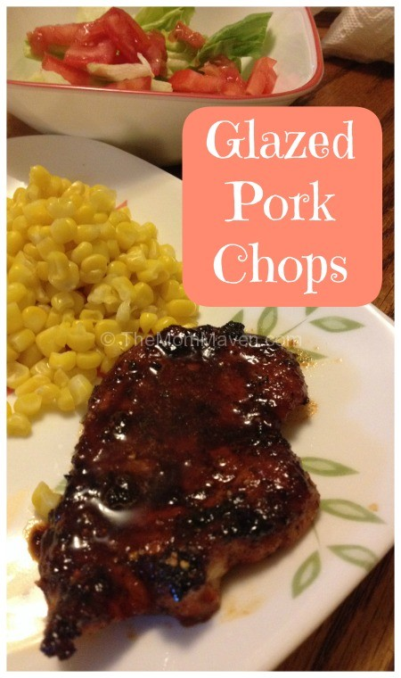 Easy Recipes-Glazed pork Chops