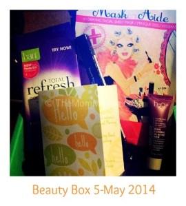 Review- Beauty Box 5 May