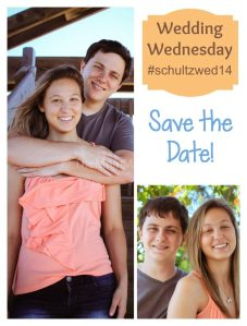 Save the Date-Wedding Wednesday