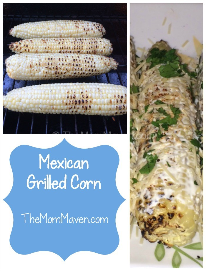 Mexican Grilled Corn-TheMomMaven.com