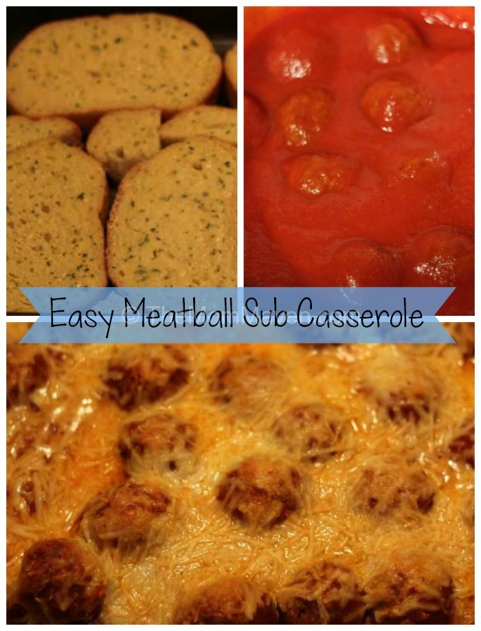 Easy Meatball Sub Casserole-TheMomMaven.com