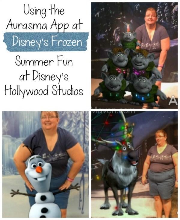 Using Arasma at Disney's Frozen Summer Fun-TheMomMaven.com