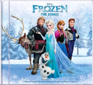 Frozen-The Songs CD Giveaway