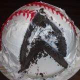 baseball cake 160