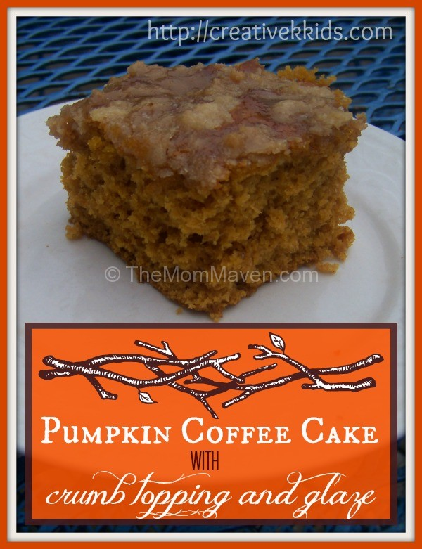 Pumpkin Bread Cake With Cream Cheese Frosting
