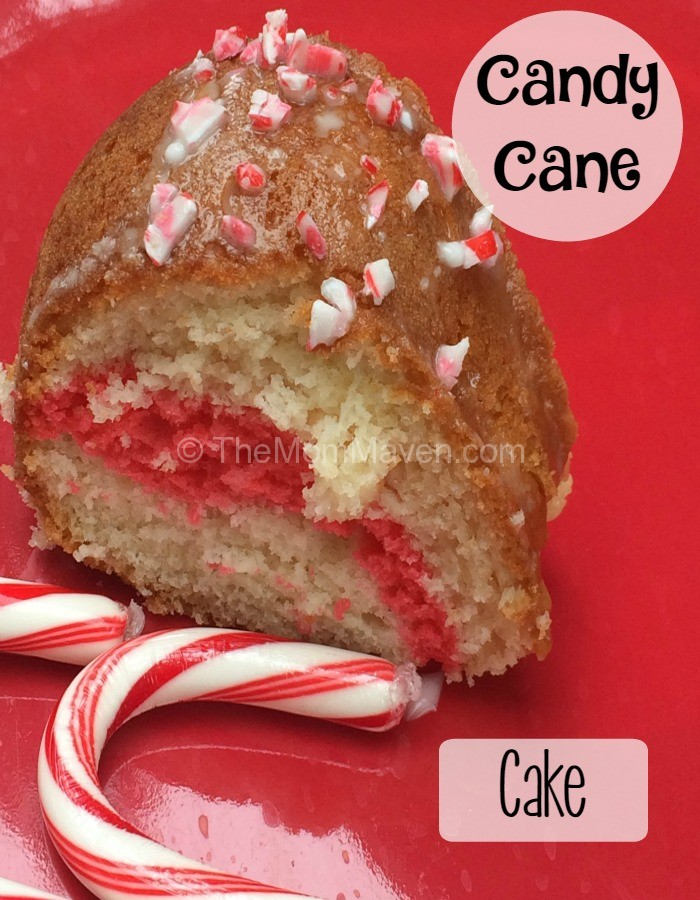This easy Candy Cane Cake recipe is a great addition to any Christmas themed celebration.