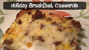 Holiday Breakfast Casserole Recipe
