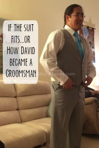 If the Clothes Fit…A Wedding Story #schultzwed14