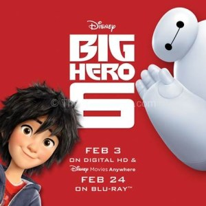 Big Hero 6 Coming to Your Home Soon