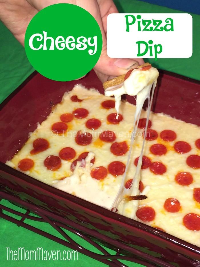 Cheesy Pizza Dip Recipe The Mom Maven