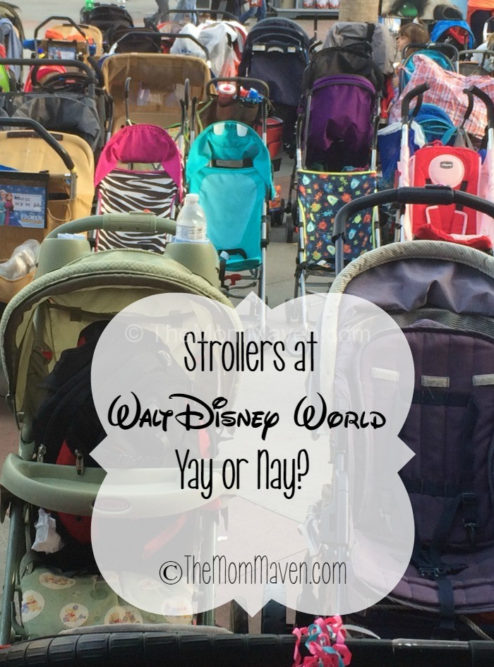 My thoughts on using strollers at Disney World