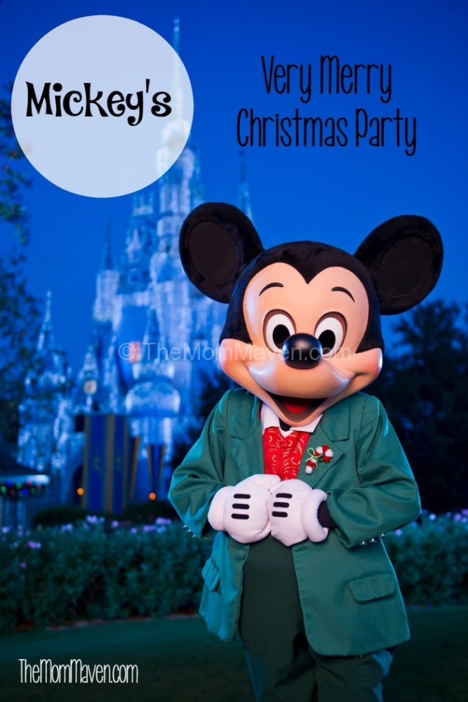 2015 Mickey's Very Merry Christmas Party Tickets are on sale now
