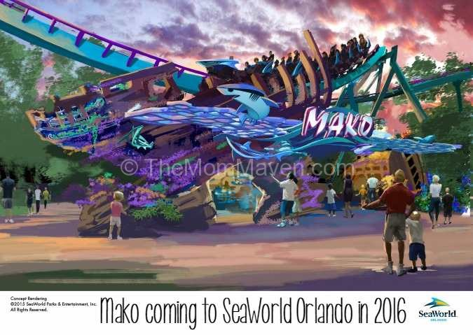 Mako coming to SeaWorld in 2015