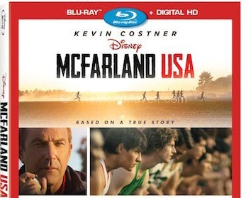 McFarland USA on Blu-Ray
