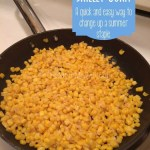 Skillet corn-a quick and easy way to change up a summer staple