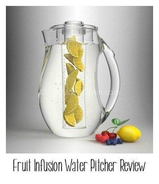 Fruit infusion water pitcher review