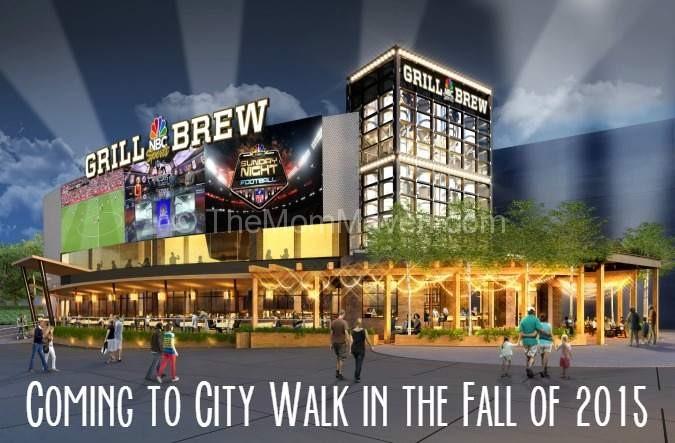 NBC Sports Grill & Brew at Universal CityWalk Fall 2015