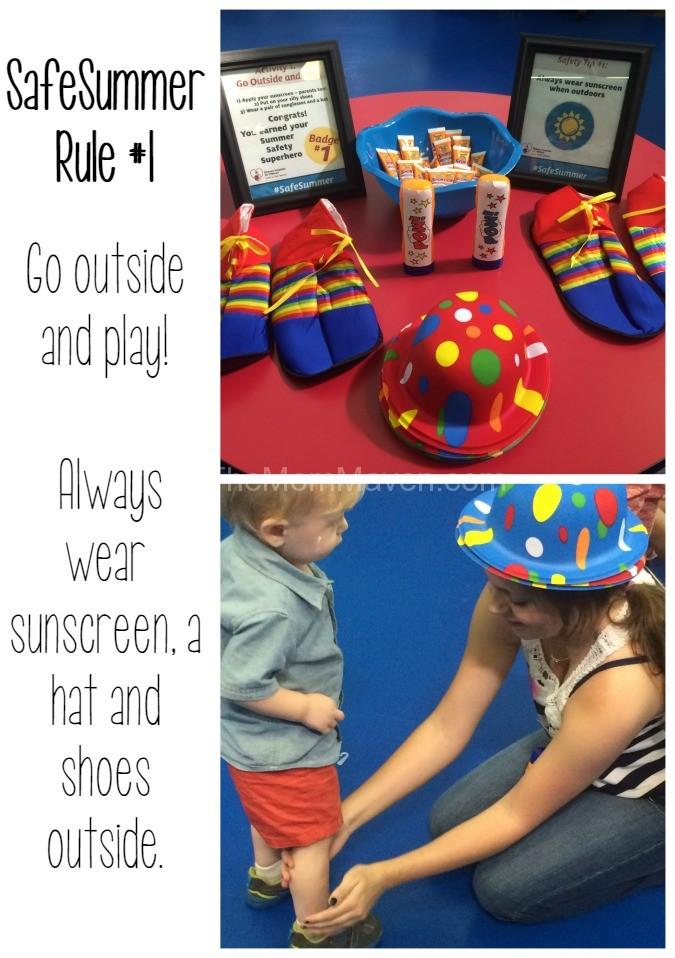 Safe Summer Rule 1