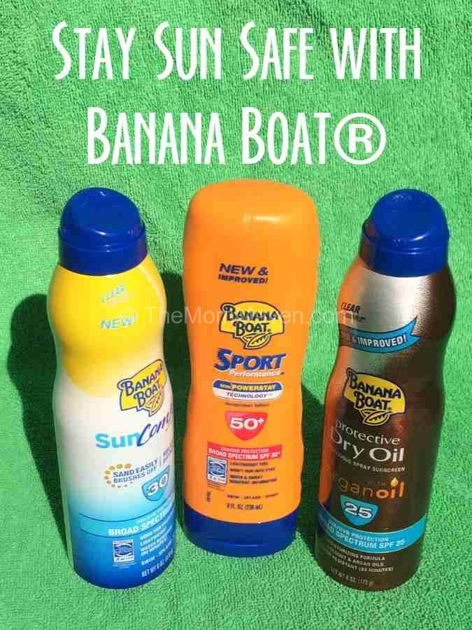 Stay Sun Safe with Banana Boat