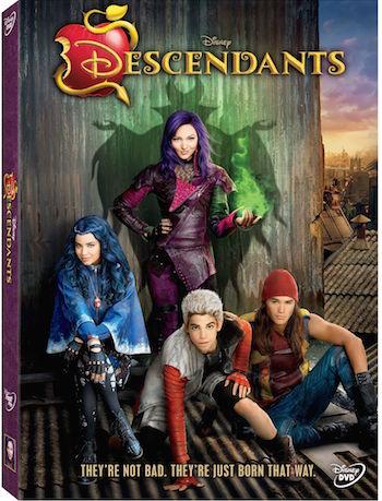 Descendants available on DVD