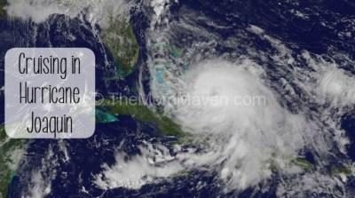 Cruising in Hurricane Joaquin