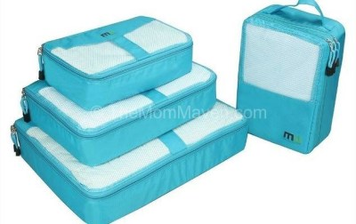 Traveling with Miu Color Packing Cubes