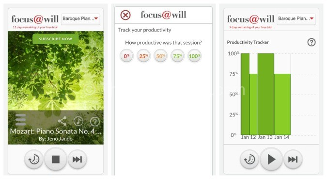 Focus at Will The productivity tool you've been looking for