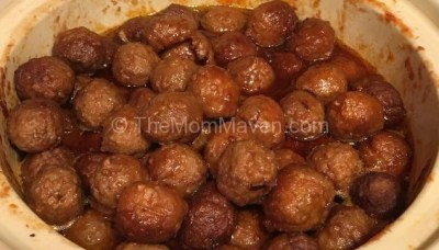"Grape Jelly Meatballs aka ""Walt's Balls"""