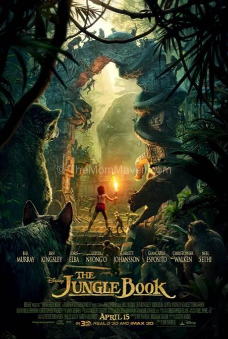 Disney's The Jungle Book poster