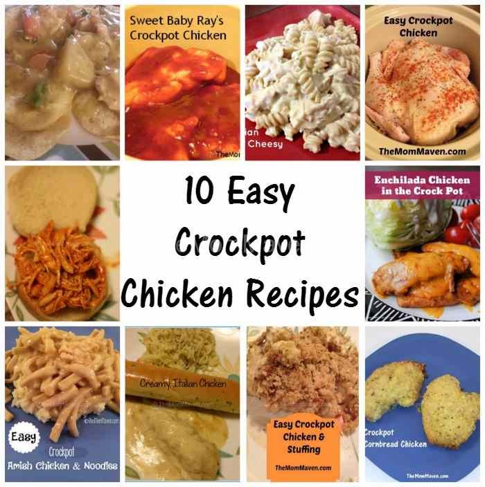 10 easy crockpot chicken recipes for busy moms