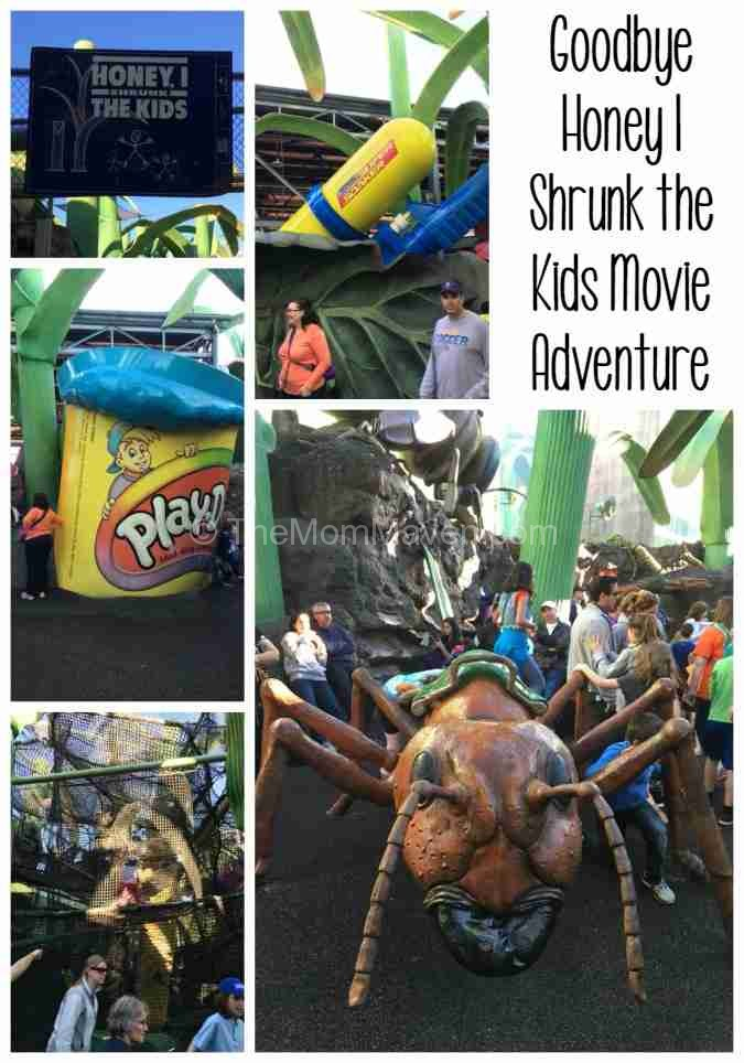 Goodbye Honey I Shrunk the Kids Movie Adventure