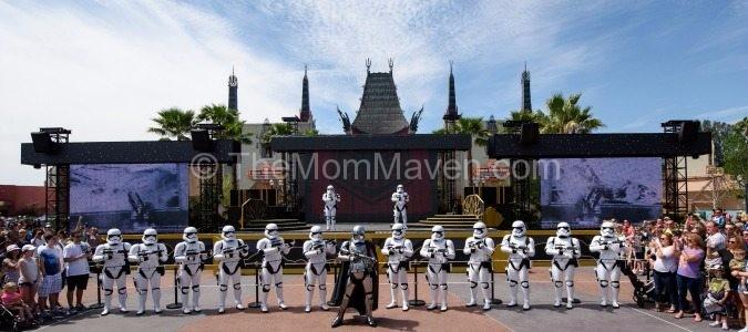 Captain Phasma and First Order Star Wars Disney's Hollywood Studios Walt Disney World