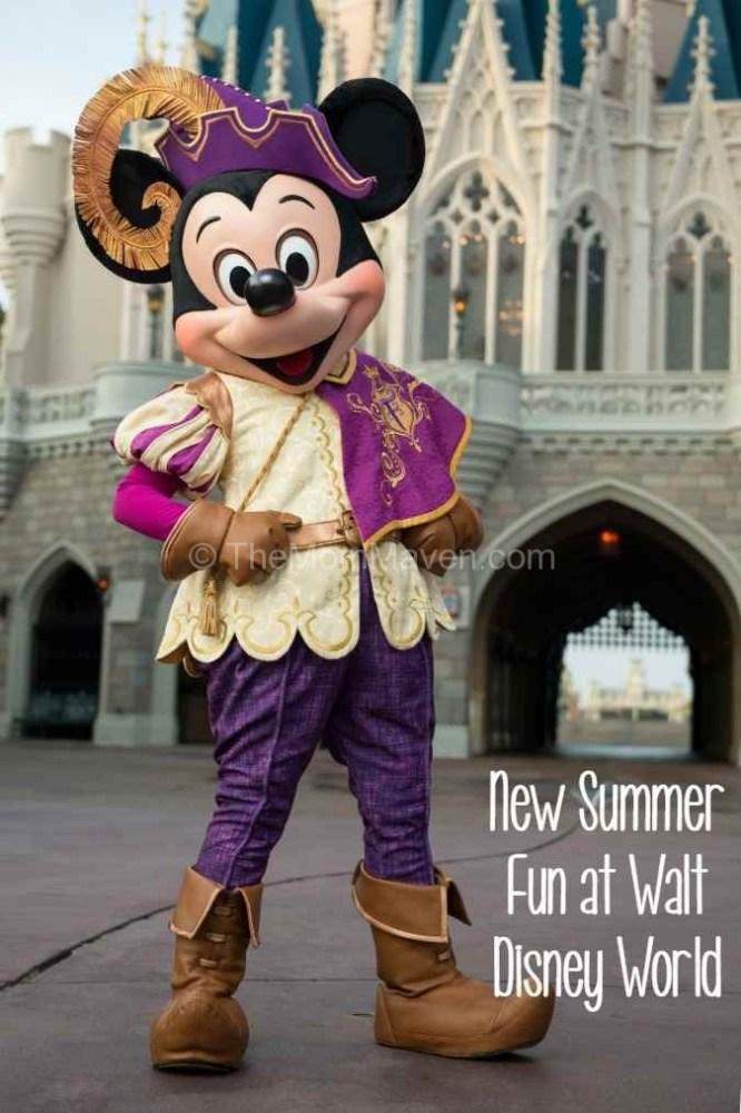 Mickey Mouse Mickey's Royal Friendship Faire Magic Kingdom Walt Disney World
