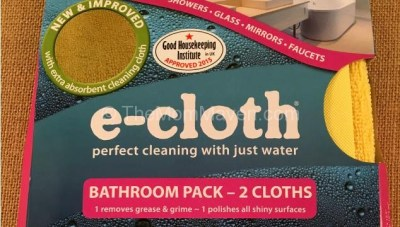 Clean with Just Water E-Cloth Review and Giveaway