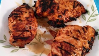 Super Simple Grilled Barbecue Ranch Chicken